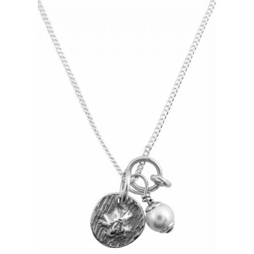 Silver Barnacle Necklace